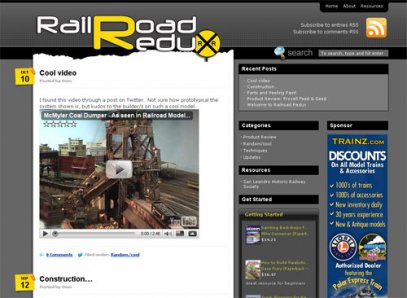 Logo Created for RailroadRedux.com