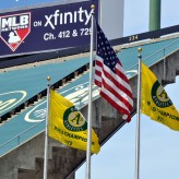 SFGate Uses Coliseum Flags Photo