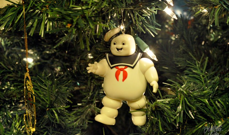 Public Broadcasting of Latvia uses Stay-Puft Marshmallow Man Ornament Photo