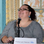 Trisha Lyn Fawver speaking at Affiliate Summit West 2015