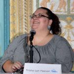 Trisha Lyn Fawver speaking at Affiliate Summit West 2015