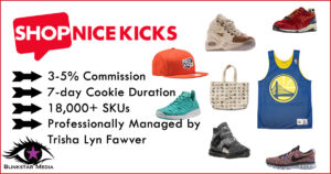 ShopNiceKicks.com Affiliate Program Management Announcement